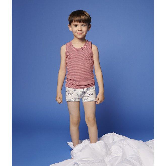 Boys' Toile de Jouy Paris Vests - 3-Pack