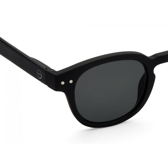 #C SUN JUNIOR Black Grey Lenses