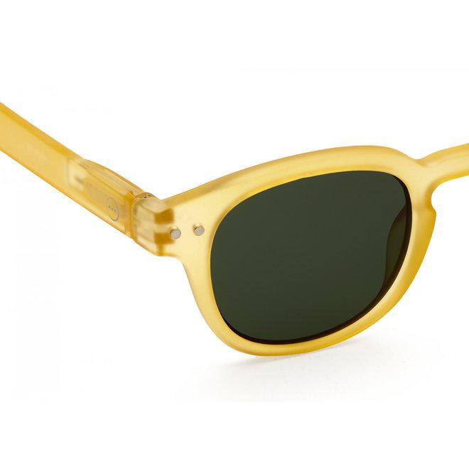 #C SUN JUNIOR Yellow Honey Green Lenses