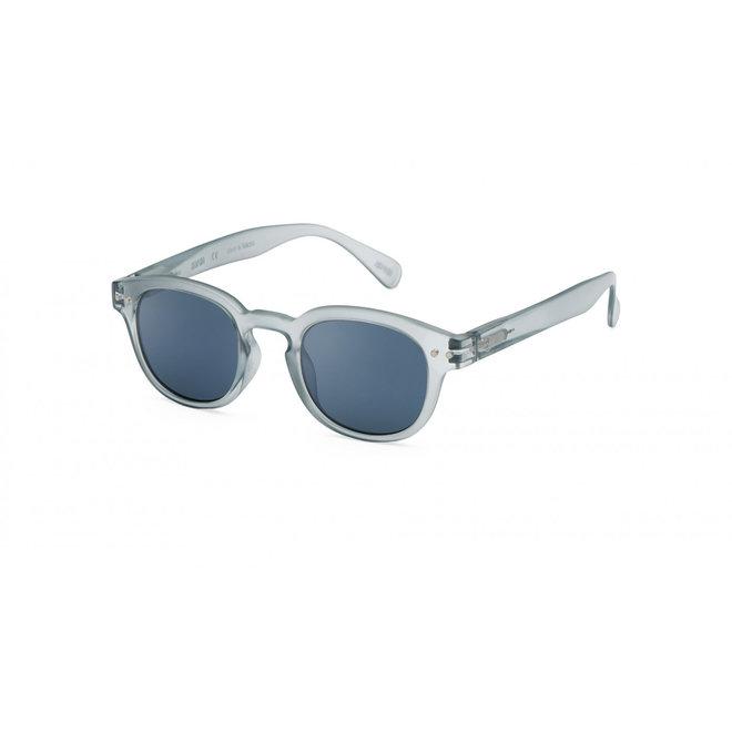 #C SUN JUNIOR Frosted Blue Aqua Lenses