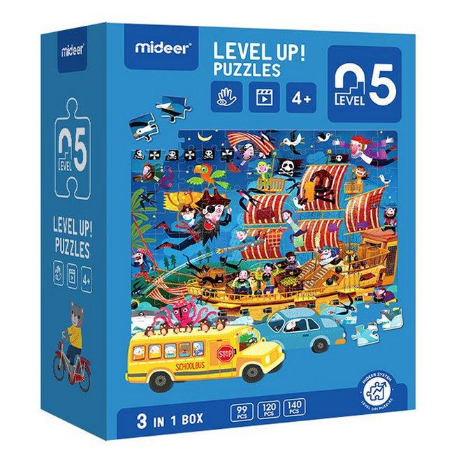 Advanced Puzzle - 05 Discover 353 pcs