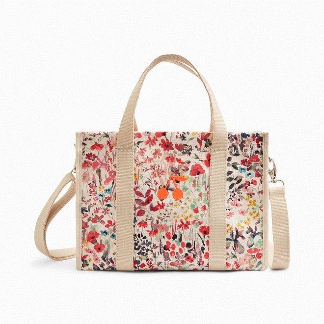 Girls' Liberty Fabric Bag Raspberry