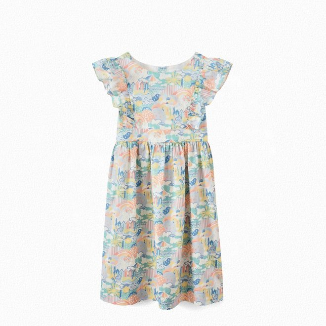 Girls' Exclusive Liberty Fabric Dress IMP Multicolored