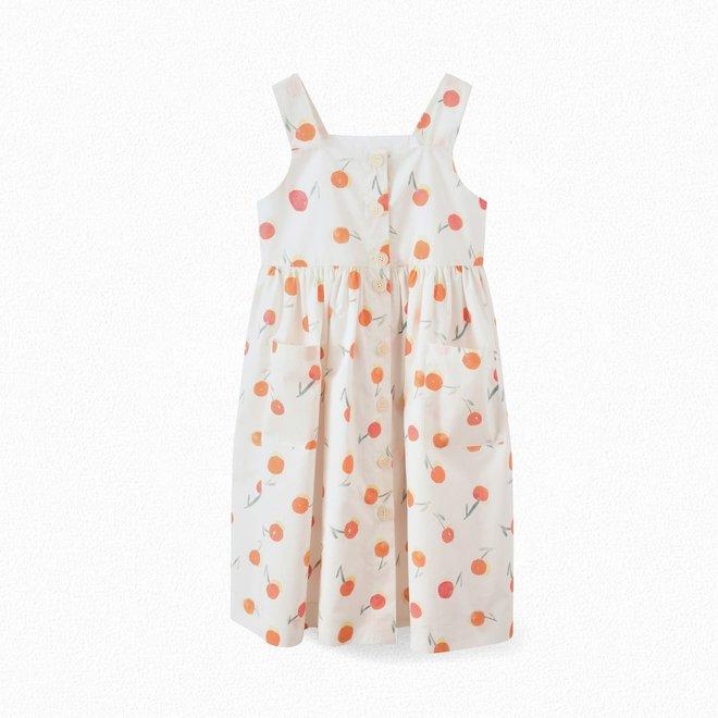 Girls' Strappy Dress Poppy Red