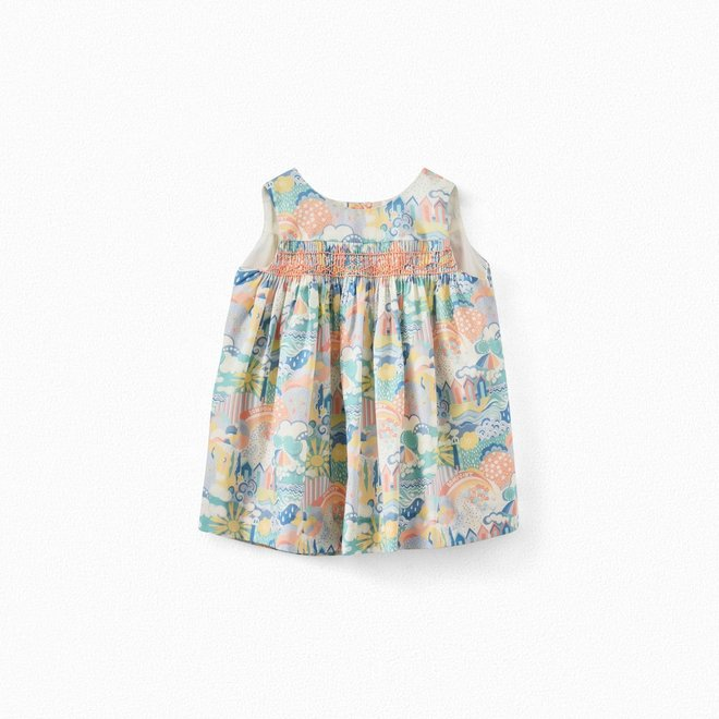 Exclusive Liberty Print Baby Dress Multicolored