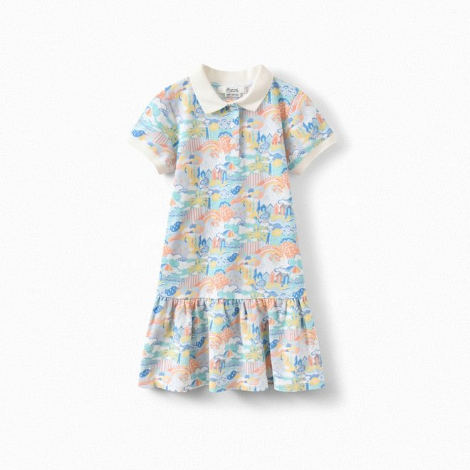 Girls' Exclusive Liberty Fabric POLO Dress IMP Multicolored