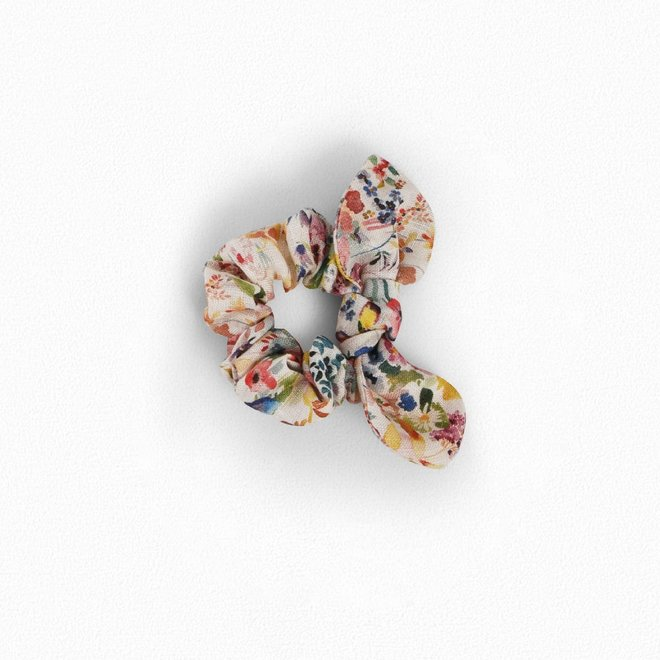 Girls' Liberty Fabric Hair Scrunchie Raspberry