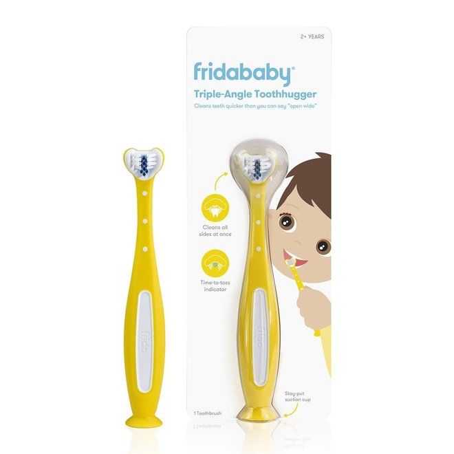 Fridababy SmileFrida Toothhugger 2.0 - Yellow