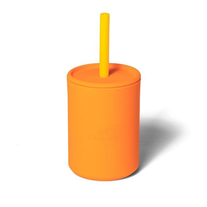 Avanchy La Petite Mini Silicone Cup Orange