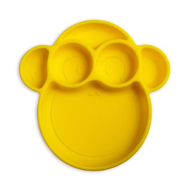Suction Plate Yellow Monkey