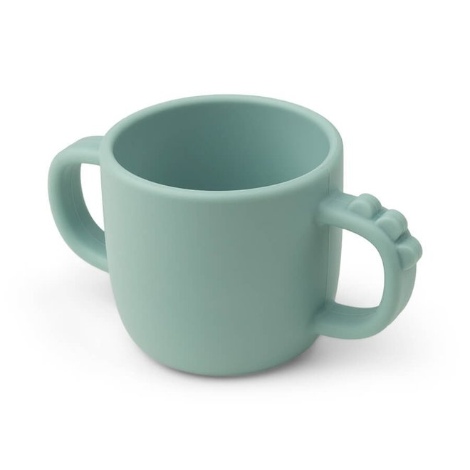 Done by Deer Peekaboo cup Croco Blue