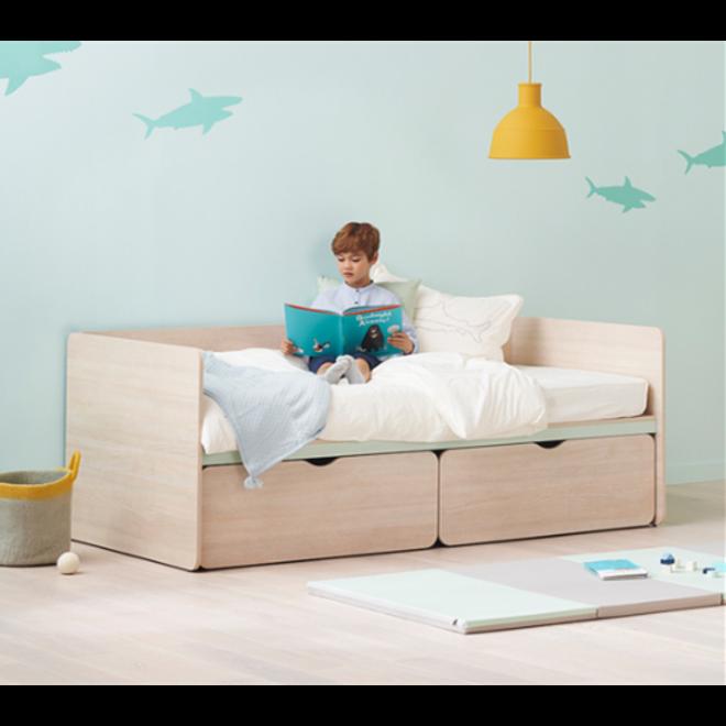 ILOOM CABIN STORAGE BED (DRAWER TYPE) 1000W Aqua
