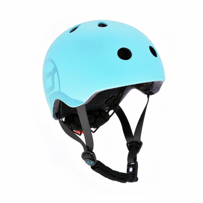 Scoot And Ride Baby Helmet-Blueberry Size S-M