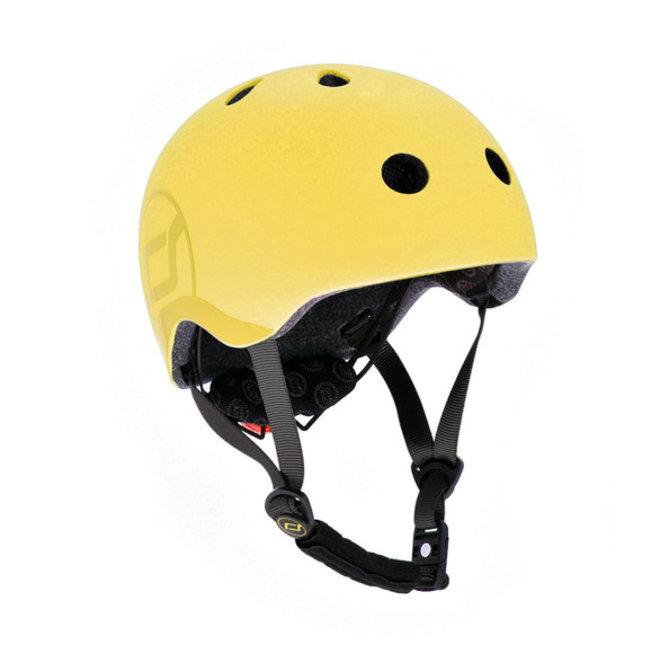 Scoot And Ride Baby Helmet-Lemon Size S-M