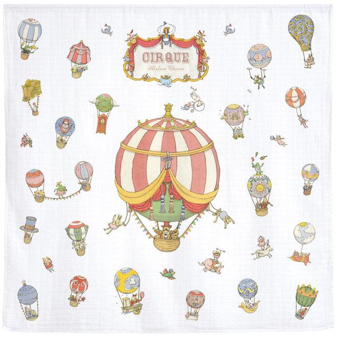 CARRÉ Light Blanket- CIRCUS