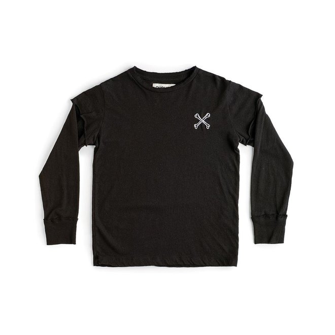 ATTENTION T-SHIRT BLACK S