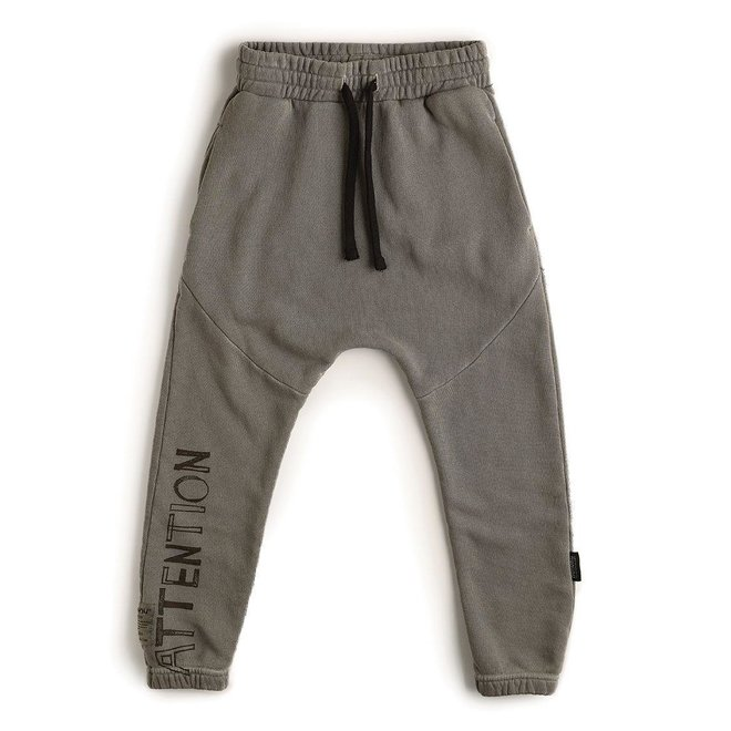 DIVISION BAGGY PANTS DYED GREY