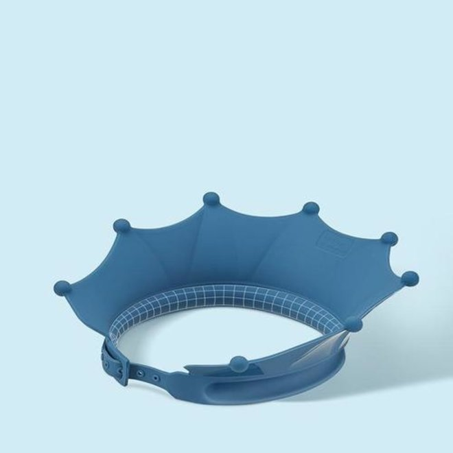 BC BABYCARE SILICONE SHOWER CAP BLUE