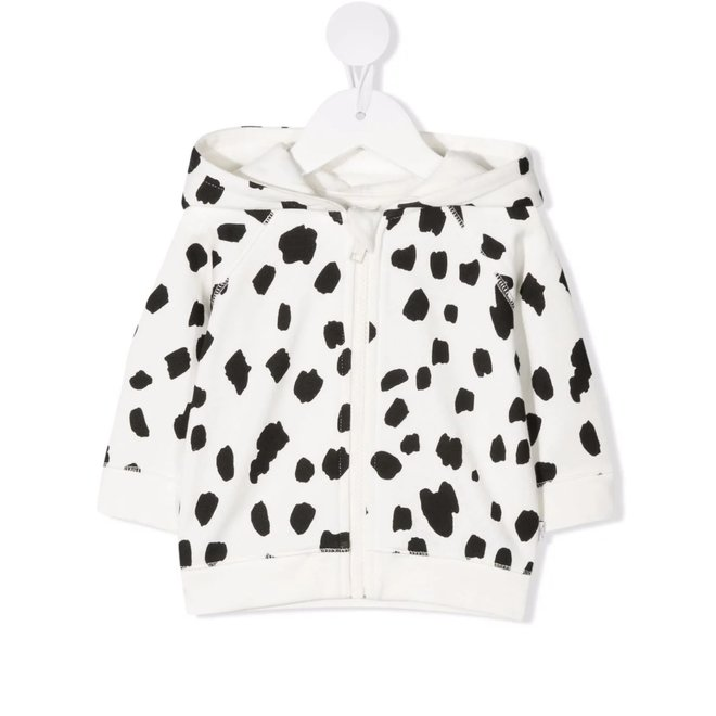 BABY UNISEX DALMATION DOTS HOODIE