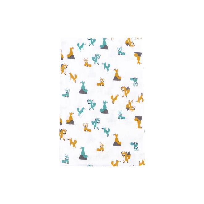 Bamboo Swaddle Blankie (Single) - Foxtro