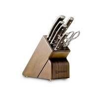 1090570701--Wusthof, Ikon Blackwood 7 Piece Block Set (#25)