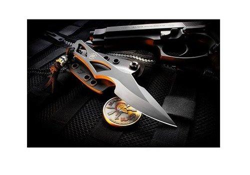 Spartan Blades SB2BK--Spartan, Enyo Black w/ IWB Black Kydex Sheath, S35VN