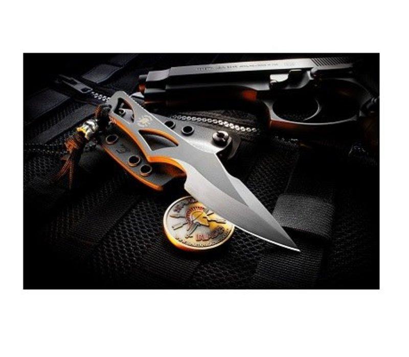 SB2BK--Spartan, Enyo Black w/ IWB Black Kydex Sheath, S35VN