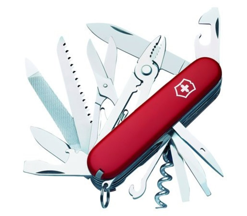 1.3773-X2--Victorinox Swiss Army Handyman - Red