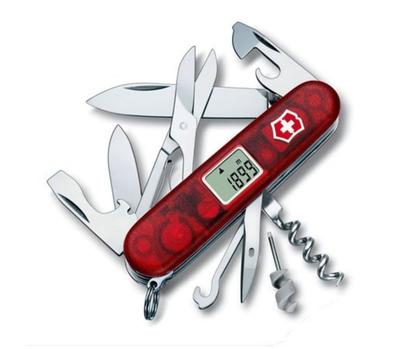 (Discontinued)1.3705.AVT-- Victorinox, Swiss Army, Traveller,  Red