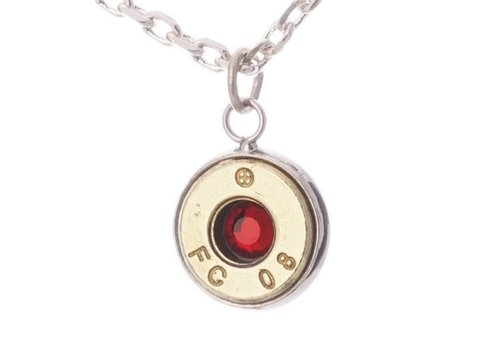 Lucky Shot LSP-308R--Lucky Shot - Real Bullet Pendant - Ruby (.308)