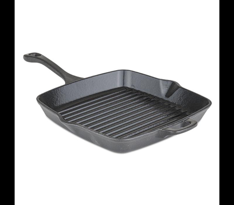 """40351-1210-SQ--Viking, ENML Cast Iron 11"""" Sq Grill"""