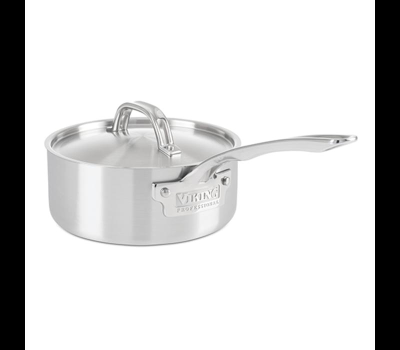 4015-1002S--Viking Professional 5ply, 2qt. 1,9L Sauce Pan, Satin Finish (18cm)