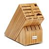 Wusthof 2099601505--Wusthof, 15-Slot Block, Bamboo