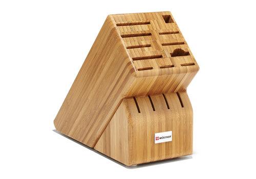 Wusthof 2265-5--Wusthof, 15-Slot Block, Bamboo