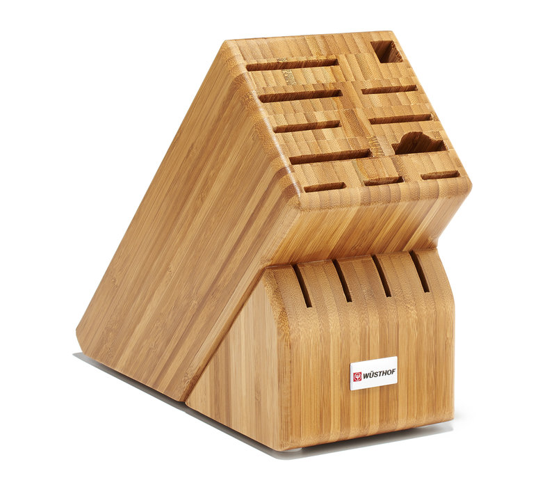 2099601505--Wusthof, 15-Slot Block, Bamboo