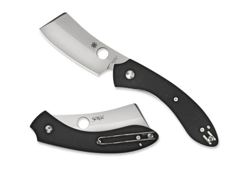 Spyderco Knives C177GP--Spyderco, ROC w/ Black G-10 Handle and VG-10 Stainless Blade
