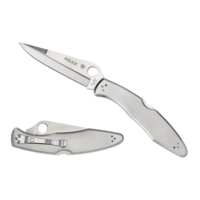 C07P--Spyderco, Police Model w/ Stainless Handle and VG-10 Stainless Blade