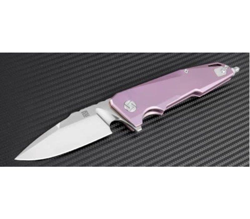 1706G-RE--Artisan, Predator, Rose Titanium, S35VN  Steel