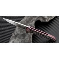 1707GS-RE--Artisan, Shark, Rose Titanium, S35VN Steel