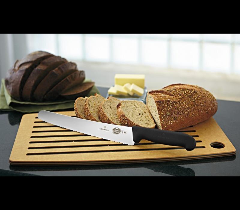 "5.2933.26--Victorinox, 10.25"" Curved, Serrated Bread Knife, Fibrox Handle"
