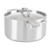 Clipper Corp/Viking 4015-1006S--Viking Professional 5-Ply 6.0 Qt., 5.7 l. Stock Pot, Satin Finish