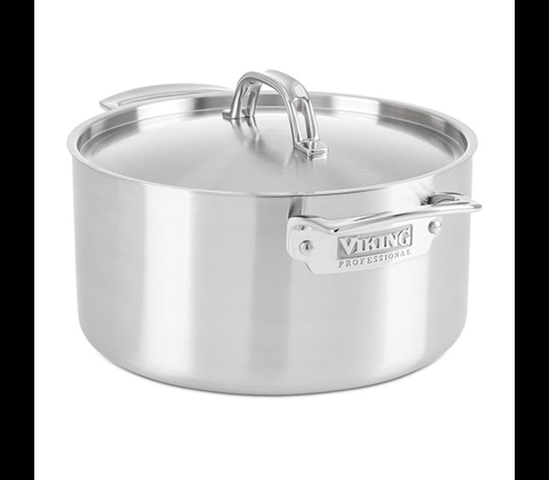 4015-1006S--Viking Professional 5-Ply 6.0 Qt., 5.7 l. Stock Pot, Satin Finish
