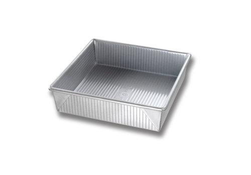 """USA Pan 1120BW--USAPan, 8"""" Square Cake Pan"""