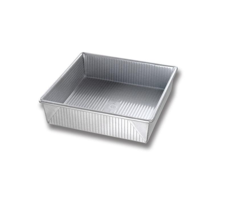 """1120BW--USAPan, 8"""" Square Cake Pan"""