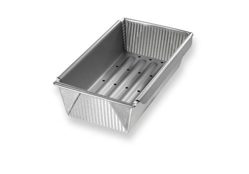 USA Pan 1157LF--USAPan, USA Meat Loaf Pan with Insert - 1.5# Vol - 10x5x3