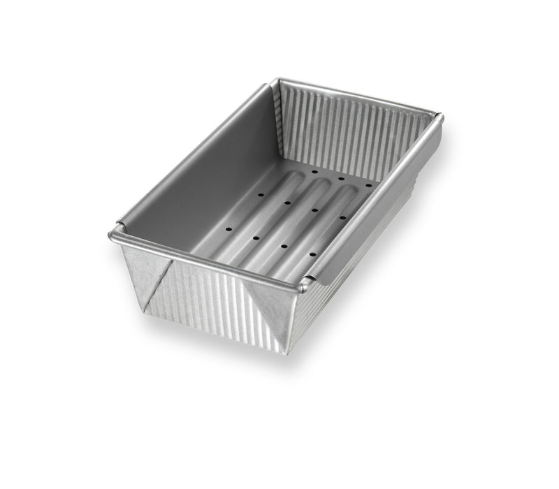 1157LF--USAPan, USA Meat Loaf Pan with Insert - 1.5# Vol - 10x5x3