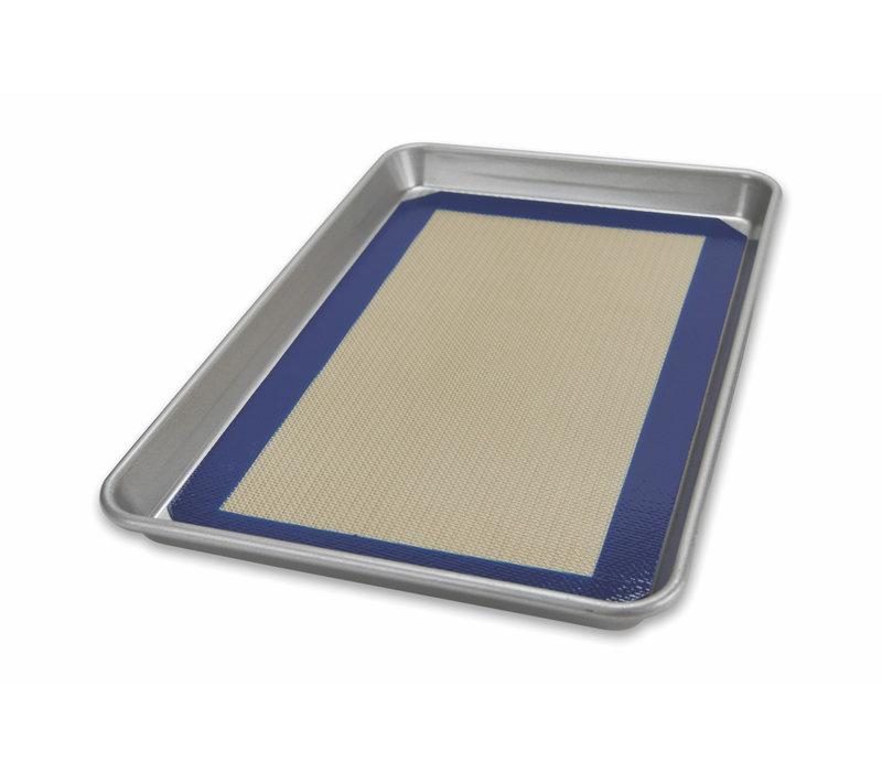 1705MT--USAPan, Jelly Roll Pan & Baking Mat Set P- 14 1/4 x 9 3/8 x 1