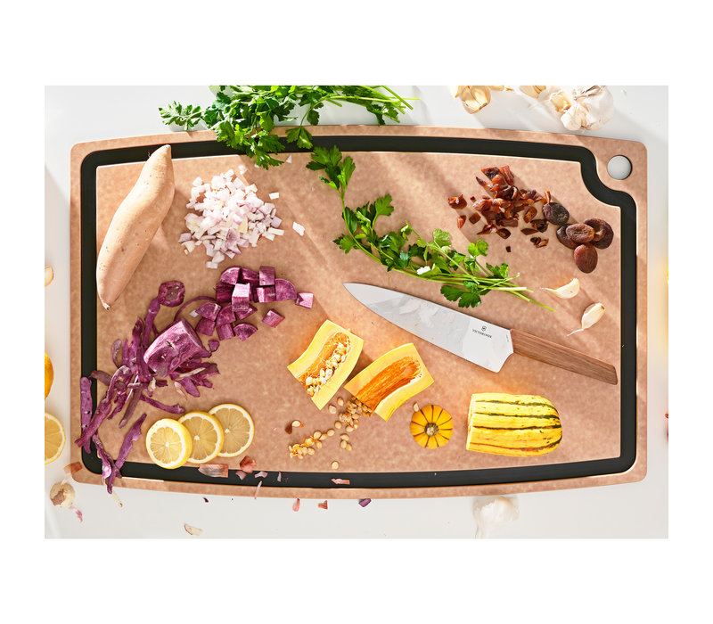 "003-27180102--Epicurean, Gourmet Series Natural/Slate Cutting Board - 27"" x 17.5"""