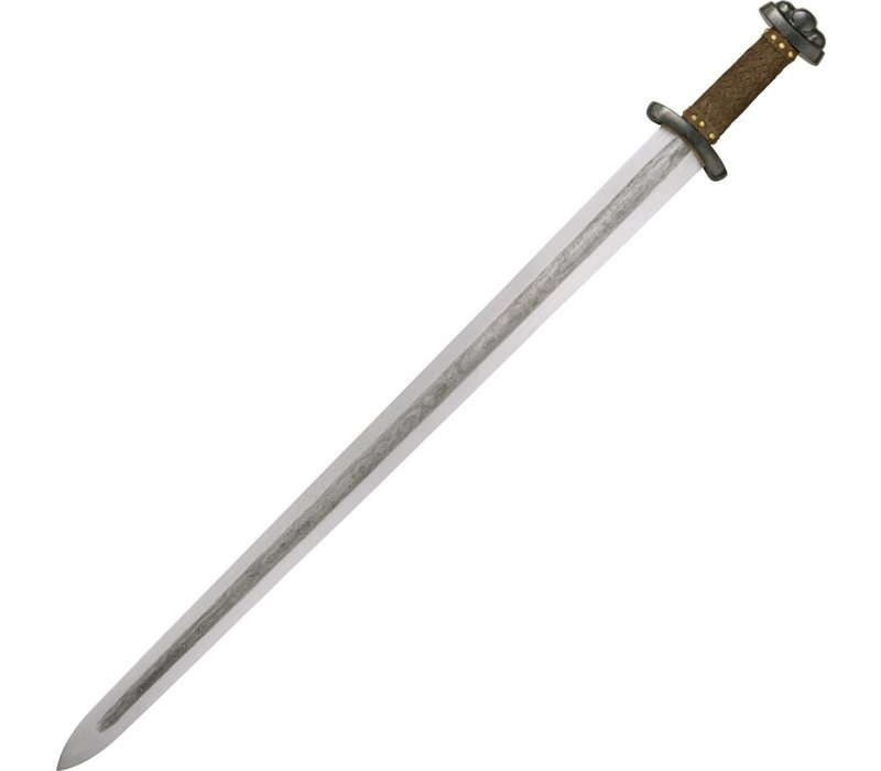 """PC1010--CAS Hanwei, Godfred Viking Sword, 34.75"""" overall w/ a 28.75"""" steel blade and Leather Wrapped Handle"""