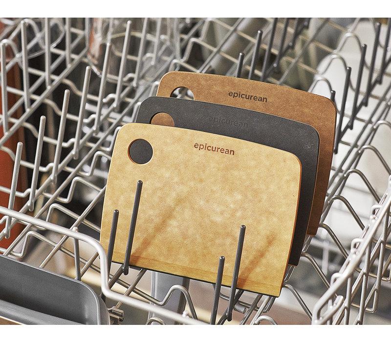 """018-04060201--Epicurean, Bench Scraper Slate/Natural - 6"""" × 4"""""""